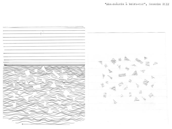 Seaside dissonance, drawing (Nadmorski dysonans, rysunek).