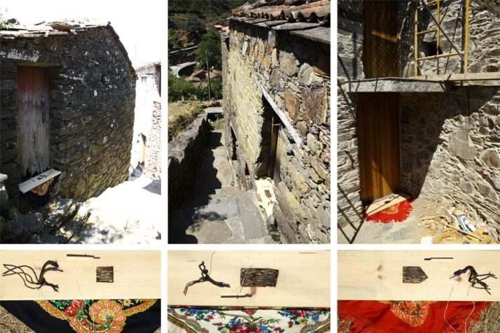 Krzysztof Kaczmar, Family House, installation, past, present, future (przeszłość, teraźniejszość, przyszłość)