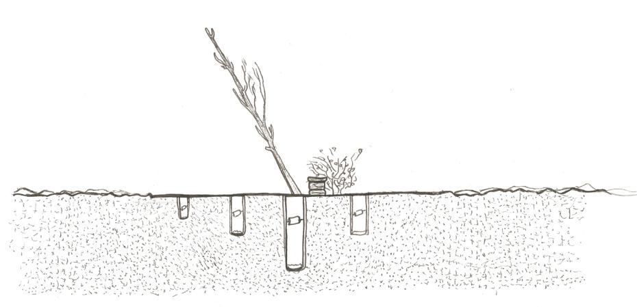 Krzysztof Kaczmar, Błędów Desert, installation, visualisation (wizualizacja instalacji)