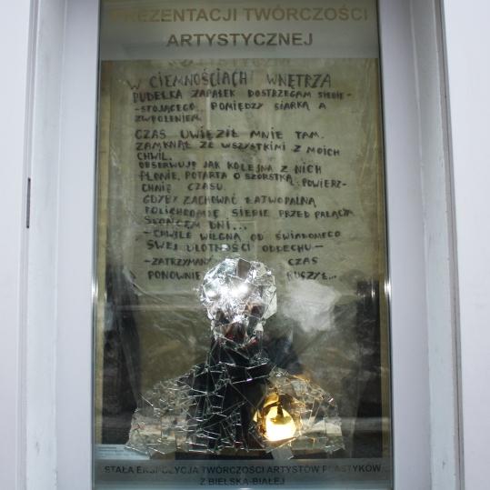 Krzysztof Kaczmar, Thirst of the past time, installation documentation (dokumentacja instalacji)
