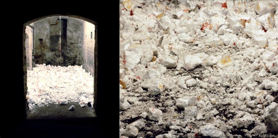 Krzysztof Kaczmar, Wnętrze zewnątrz, Środowisko performatywne, Cellar Gallery, kwiecień 2015, 2 (małe)